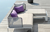 Pure Aluminium Outdoor Sofa