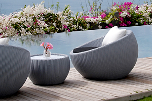 Outdoor Circle Lounge Chair
