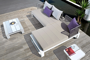 Outdoor Sectional Chaise Sofa