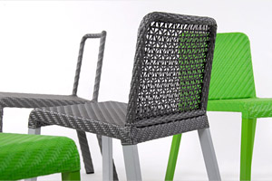 Sun Set 4L Criss Weave Chair  Outdoor Hotel Chairs