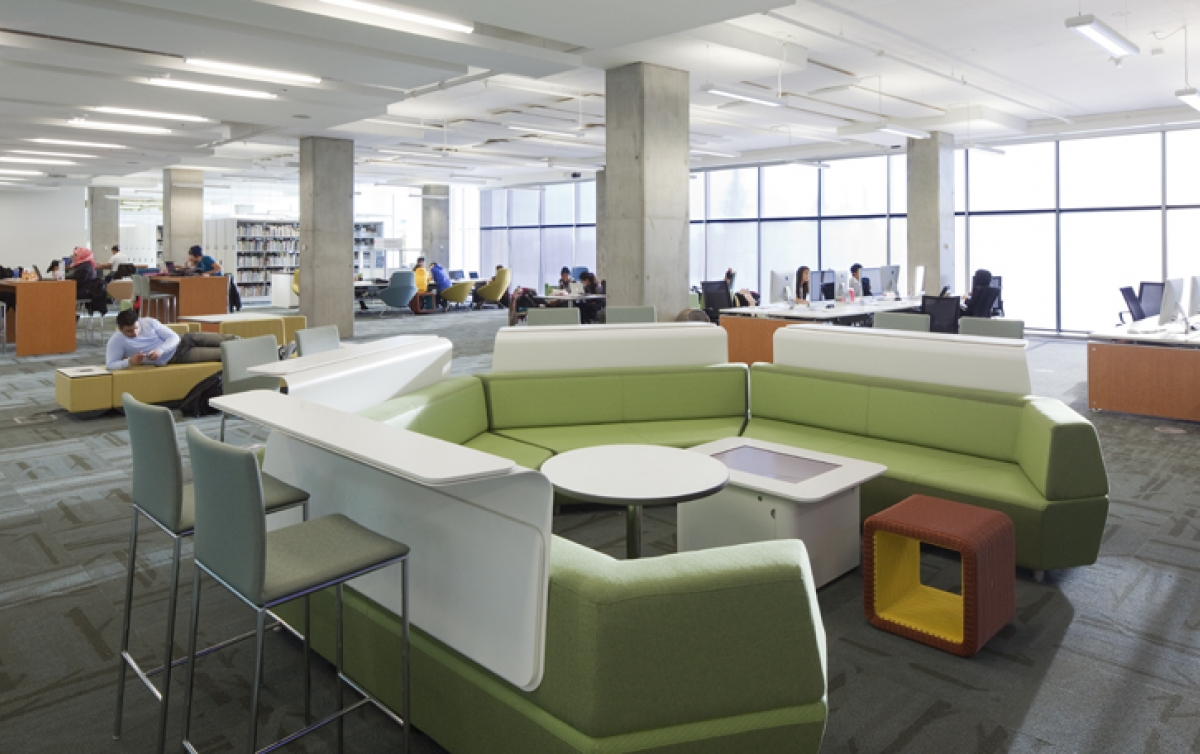 Hollow Installation For Taylor Family Digital Library