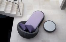 Circle Chaise