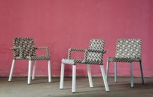 4L X Arm Chair