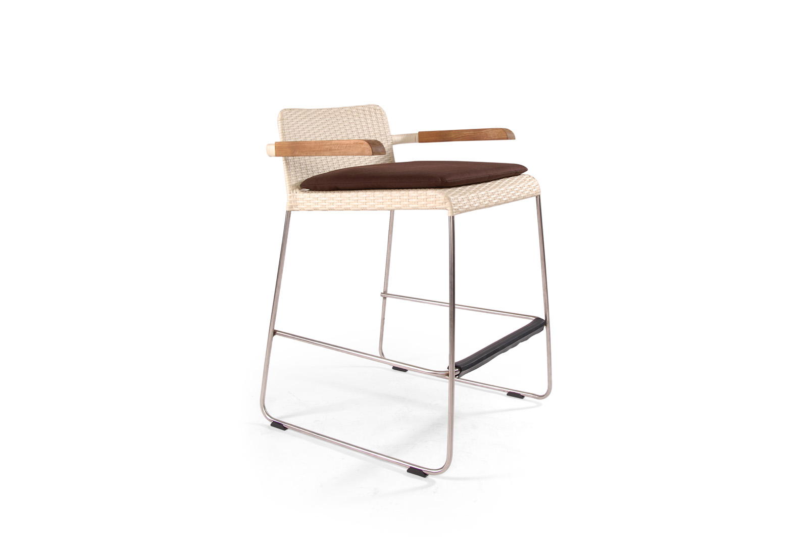 Sun Set Arms Stool