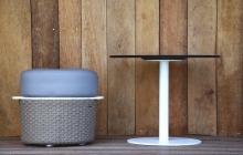 Vaud Stool & Pure Side Table