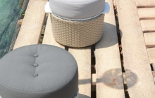 Vaud Stool in Grey