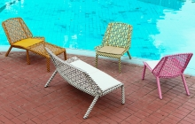 4L X Chaise Lounger