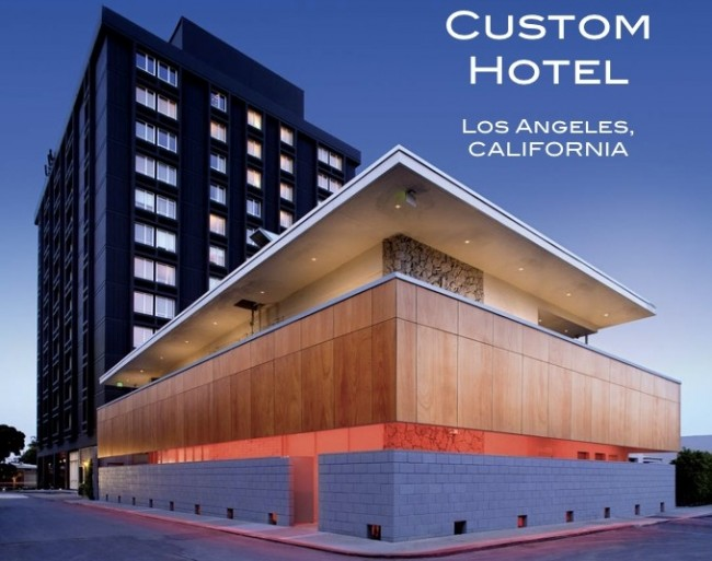 Custom Hotel Interior Design Los Angeles Lebello Com