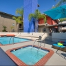 Ava Pasadena, Pool with Circle Chaise Lounge