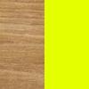 Teak / Fluro Yellow