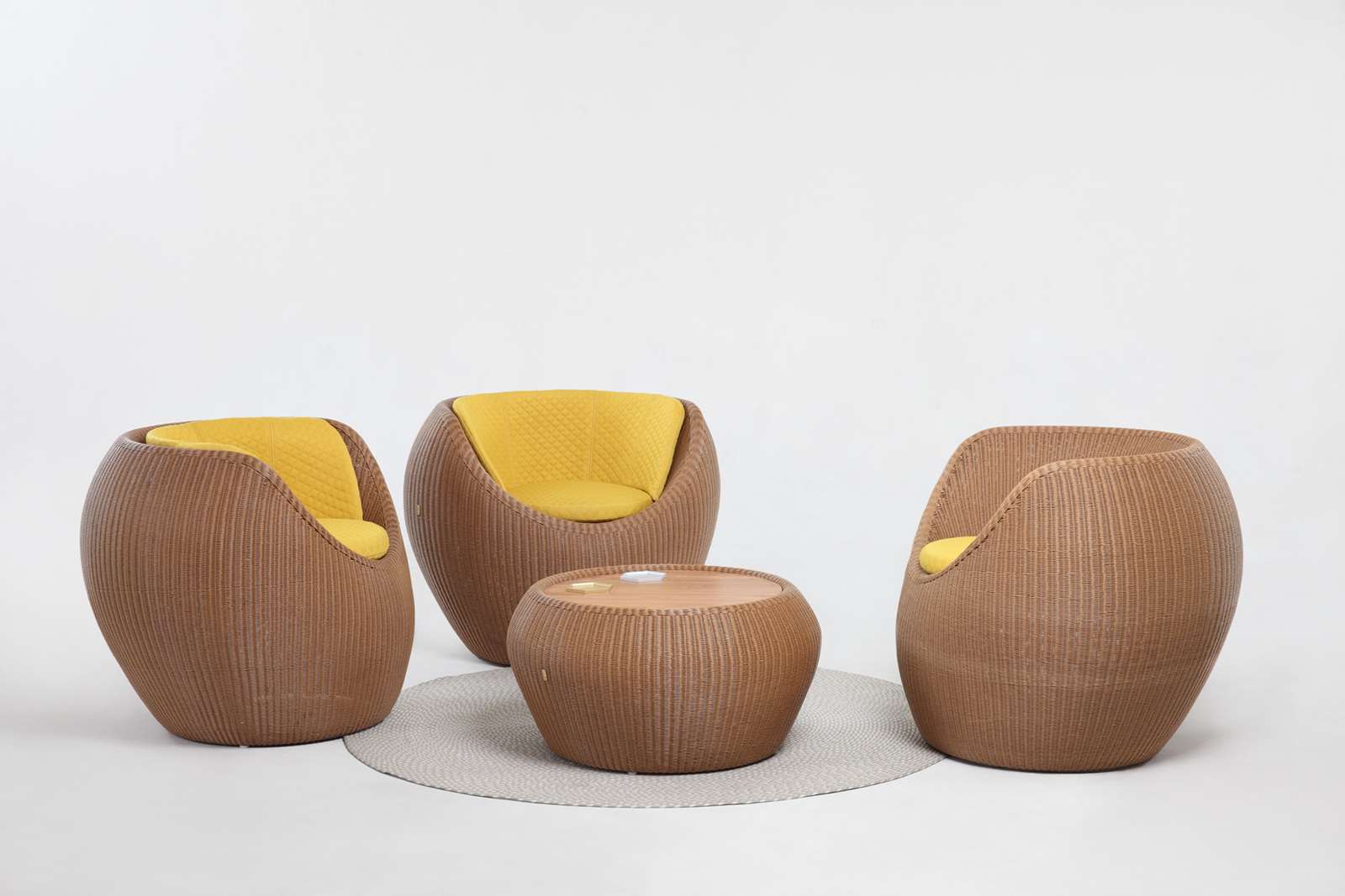 Donut Lounge Chair / Donut Side T