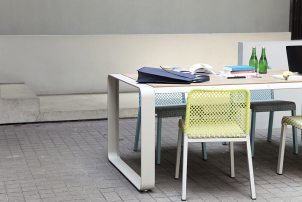 4L Net Chair Outdoor