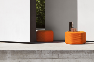 Hexa Pouf Stool Small