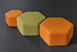 Hexa Pouf Seat Lounger