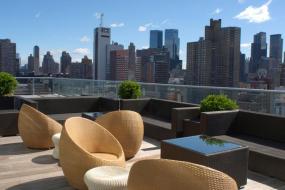 Press Lounge Rooftop Bar, Ink48 Hotel
