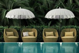 Mini Mogul Circular Outdoor Lounge Chair