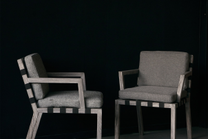 Strap Chair by Christophe Pillet